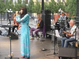 At Kungsträdgården, Stockholm City